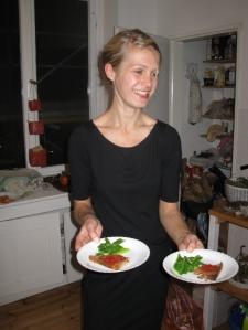 Dinner Exchange Berlin_#2_Sandra in action