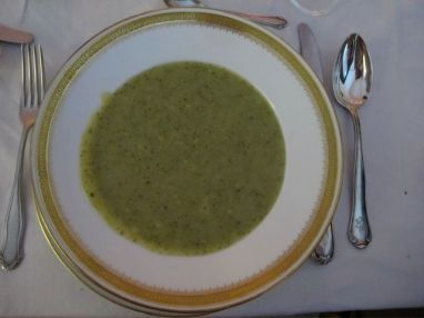 potato-broccoli soup