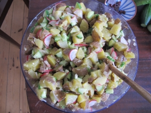 Bavarian Potato Salad à Mrs. Chadwick